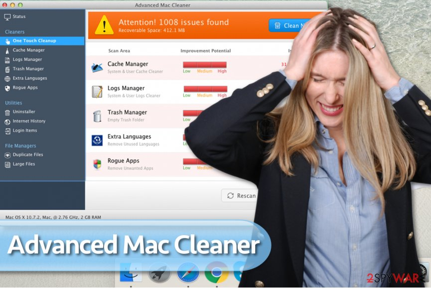 Advanced Mac Cleaner PUP