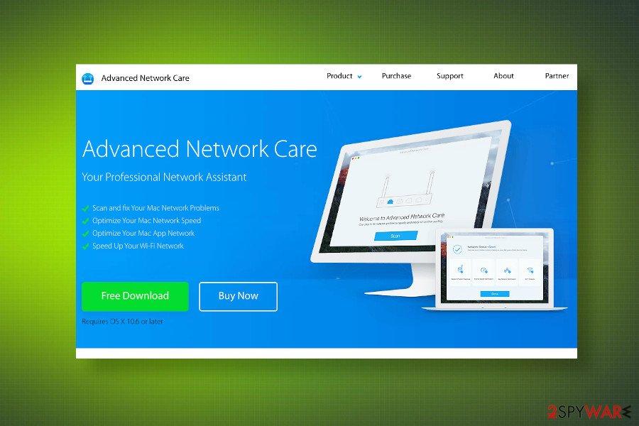 Advanced Network Care virus