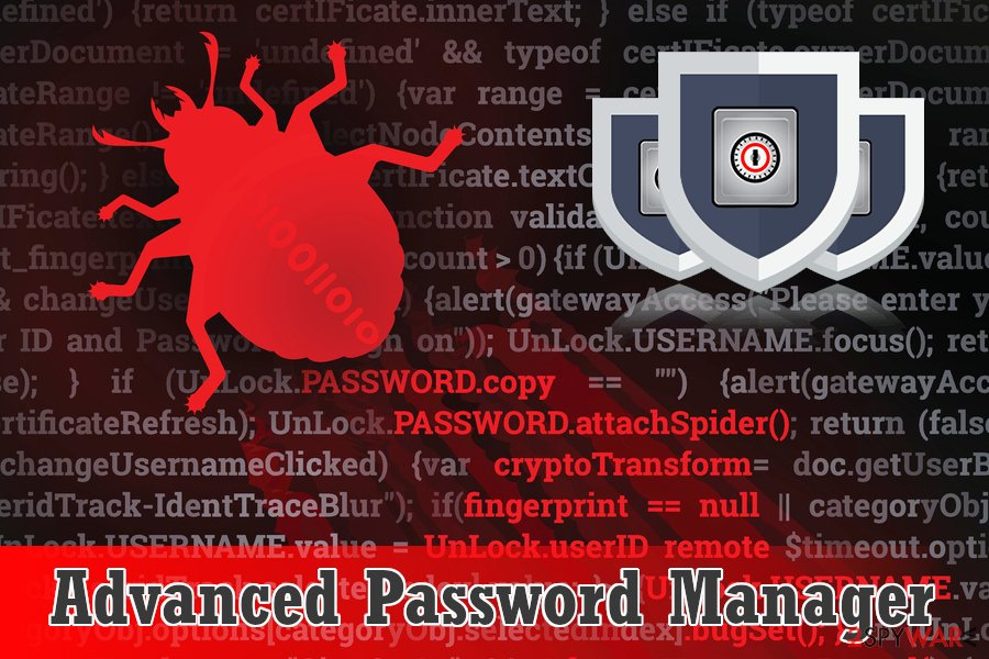 Advanced Password Manager scareware