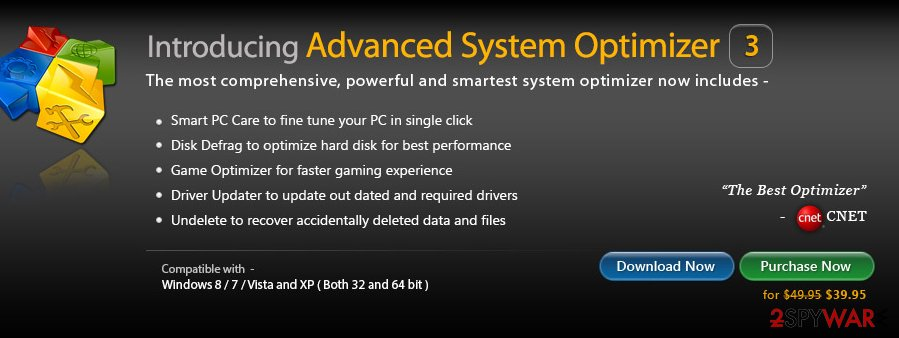 Advanced System Optimizer virus