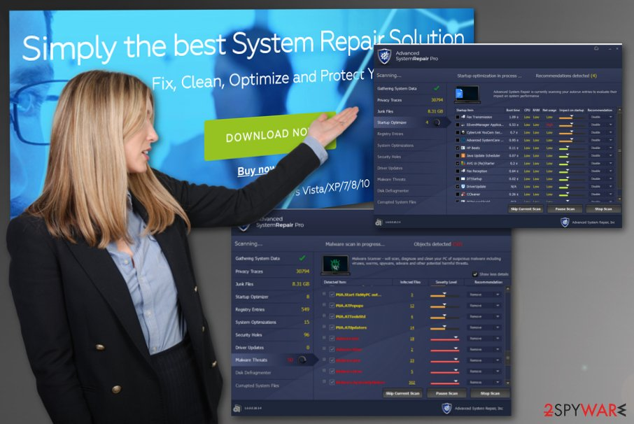 Advanced System Repair Pro tool