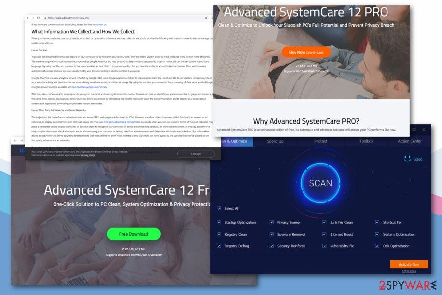 Advanced SystemCare virus