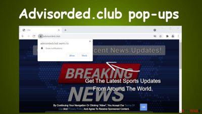 Advisorded.club pop-ups