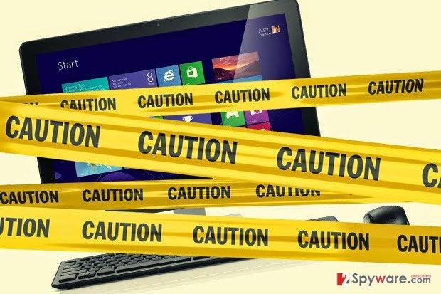 Adware warnings