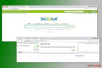 The screenshot of Aeijmp.com