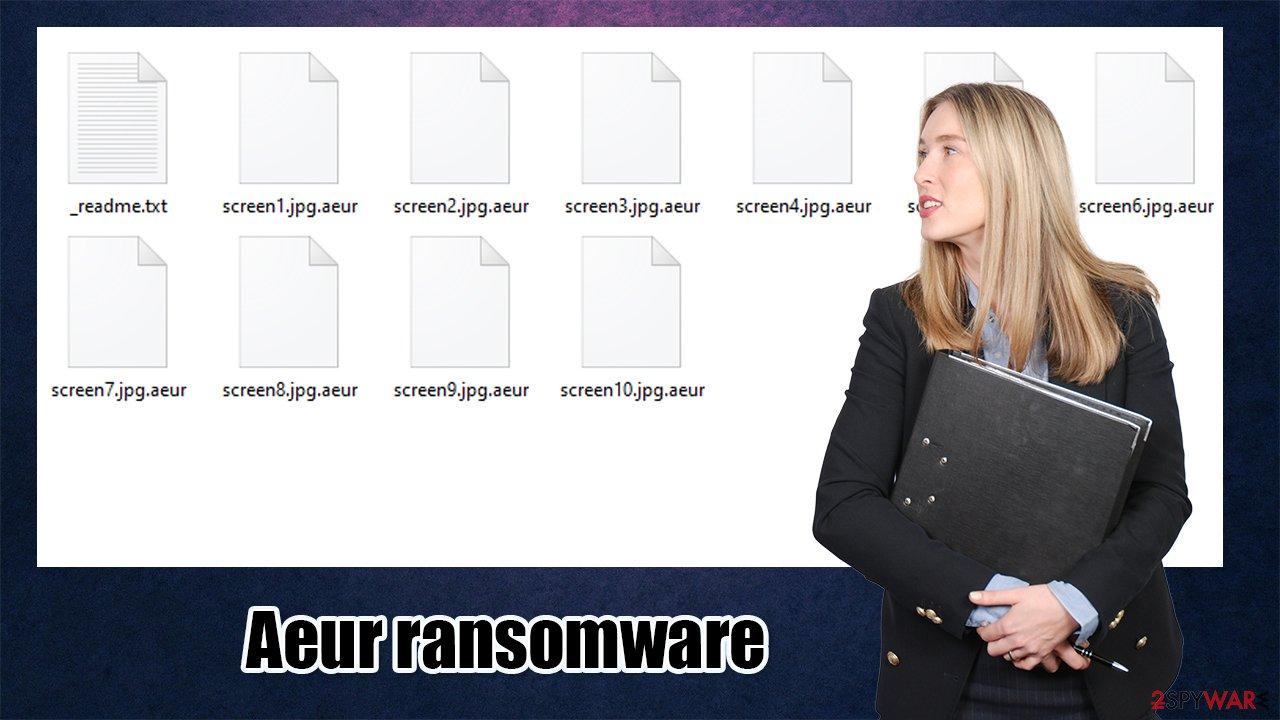 Aeur ransomware virus