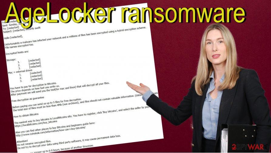 AgeLocker ransomware removal