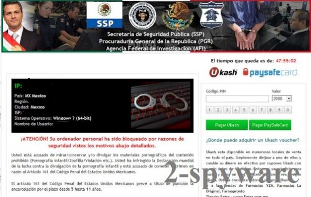 Agencia Federal de Investigación virus snapshot