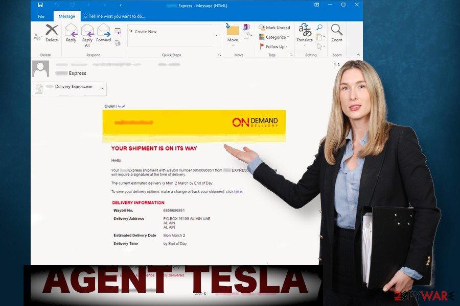 Agent Tesla trojan