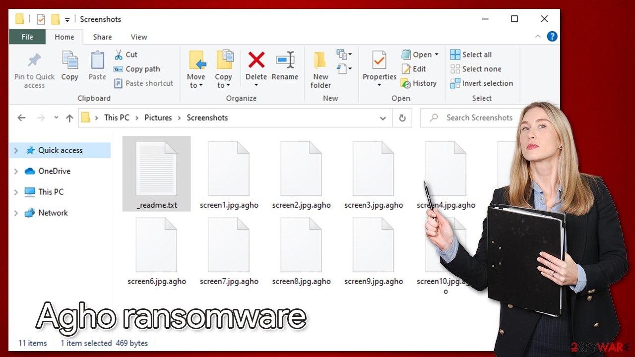 Agho files virus