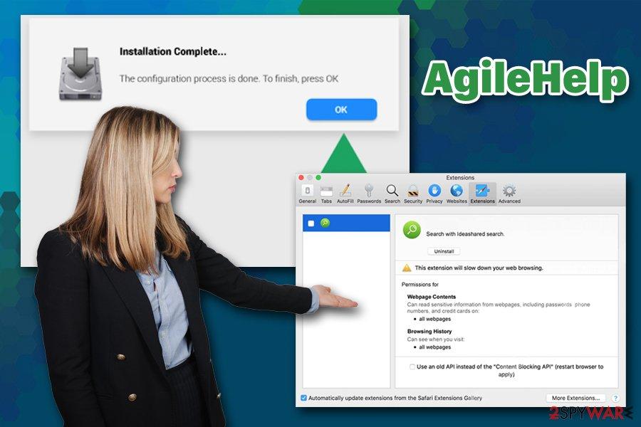 AgileHelp adware
