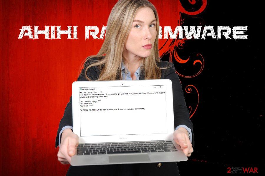 Ahihi ransomware virus