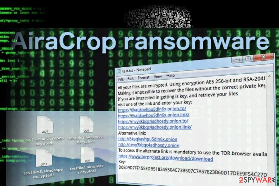 Remove AiraCrop ransomware / virus (Removal Guide) - May