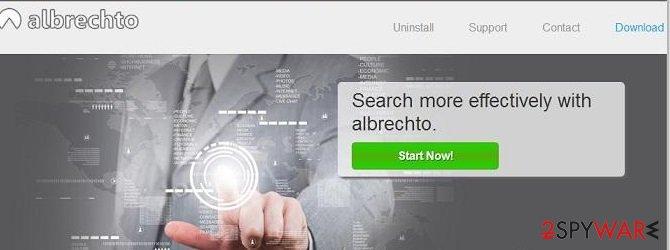 Albrechto ads snapshot