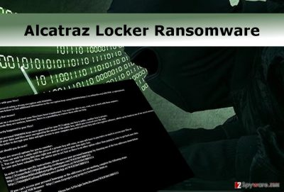 The attack of Alcatraz Locker ransomware virus