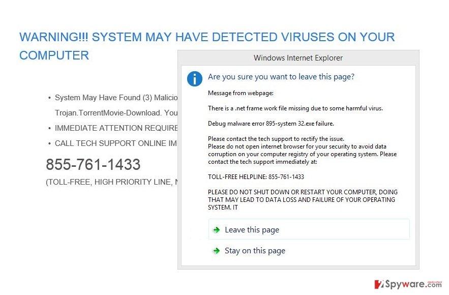 Alert.seoultechhelp.com virus