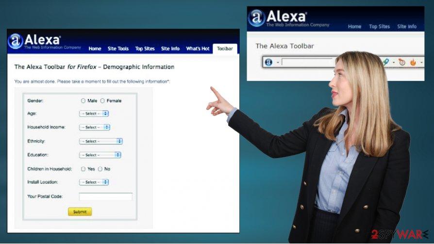 Alexa Toolbar PUP