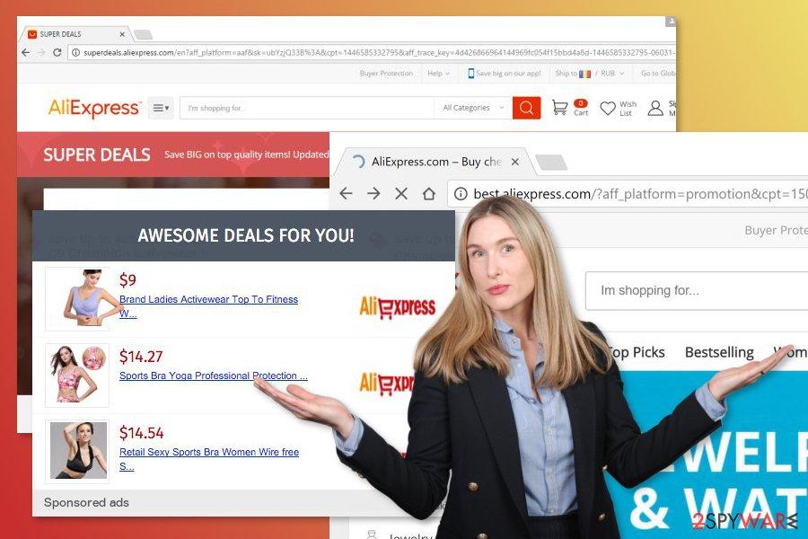 Image of Aliexpress adware