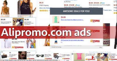 Examples of Alipromo.com ads