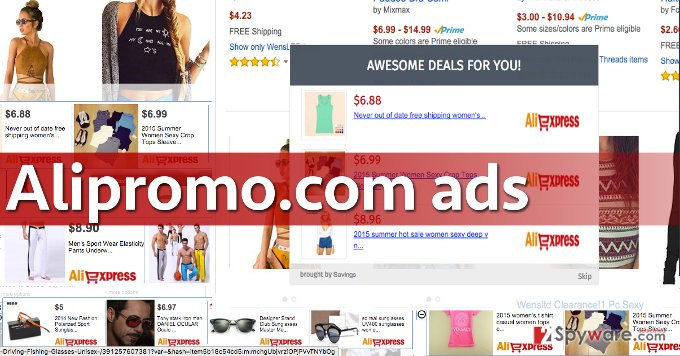 Examples of Alipromo.com ads