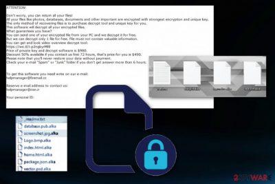 Alka ransomware