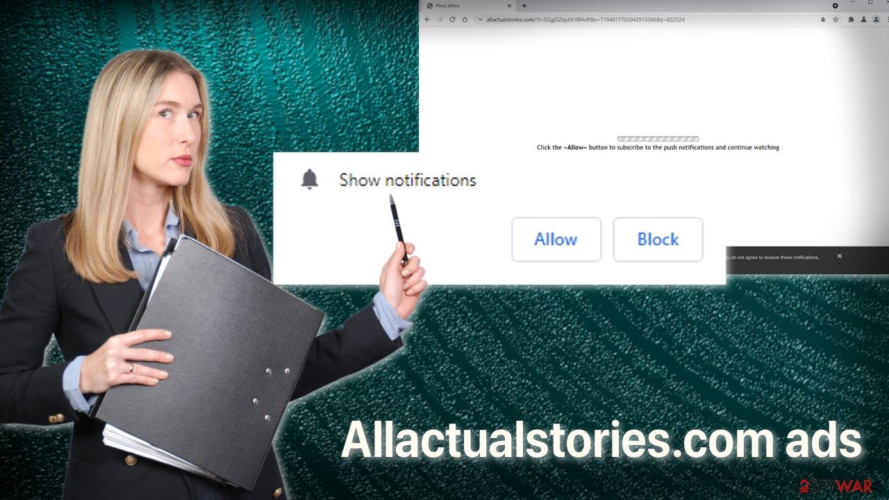Allactualstories.com ads