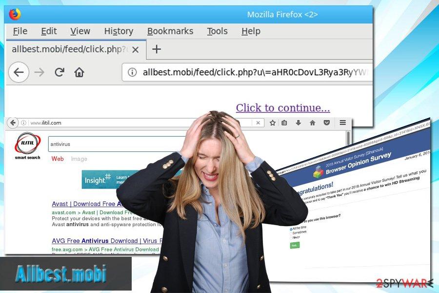 Allbest.mobi adware uninstallation