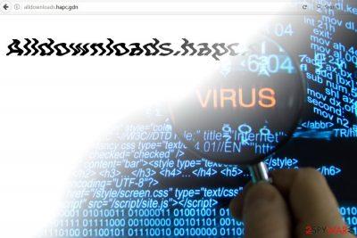 The image displaying Alldownloads.hapc.gdn website