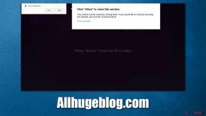 Allhugeblog.com ads
