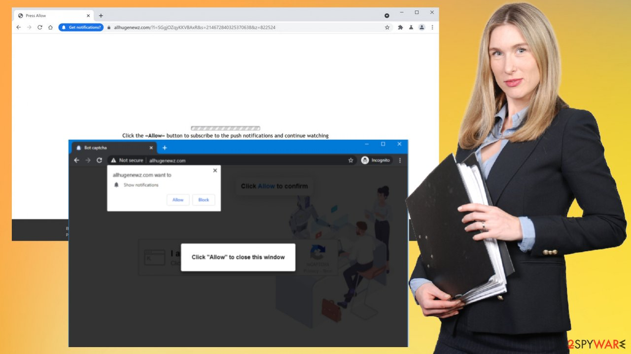 Adware-type app triggers tons of redirects