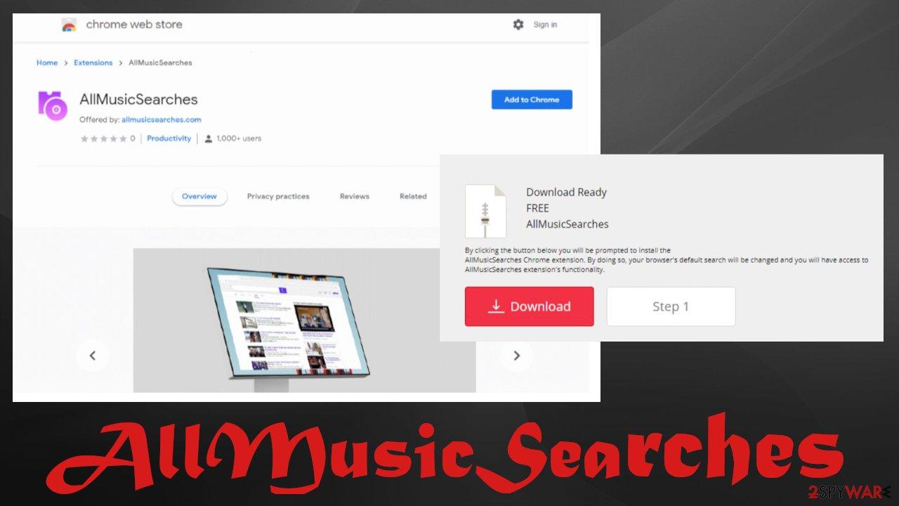AllMusicSearches virus