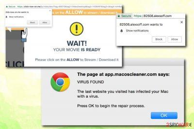 Allow Website Notifications scam