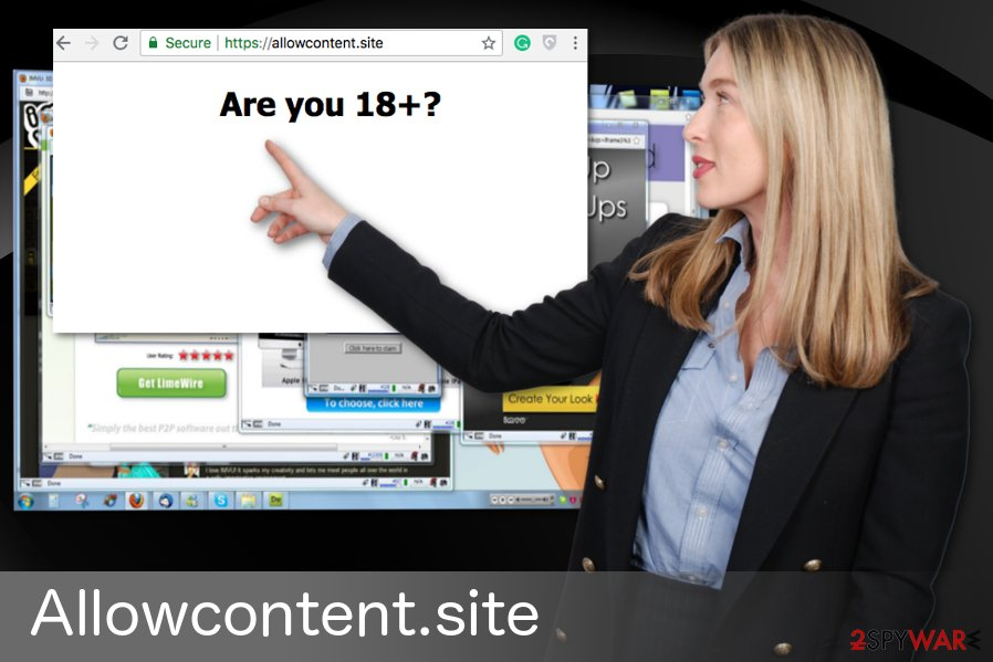 Allowcontent.site redirect