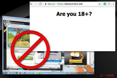 Allowcontent.site virus