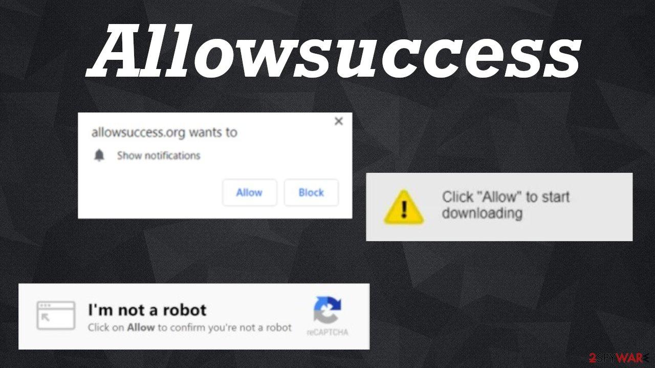 Allowsuccess pop-up