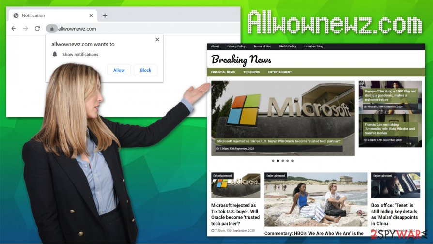 Allwownewz.com notifications