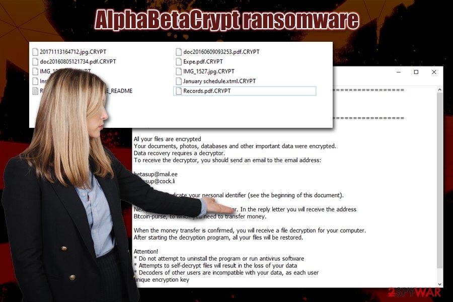 AlphaBetaCrypt ransomware virus