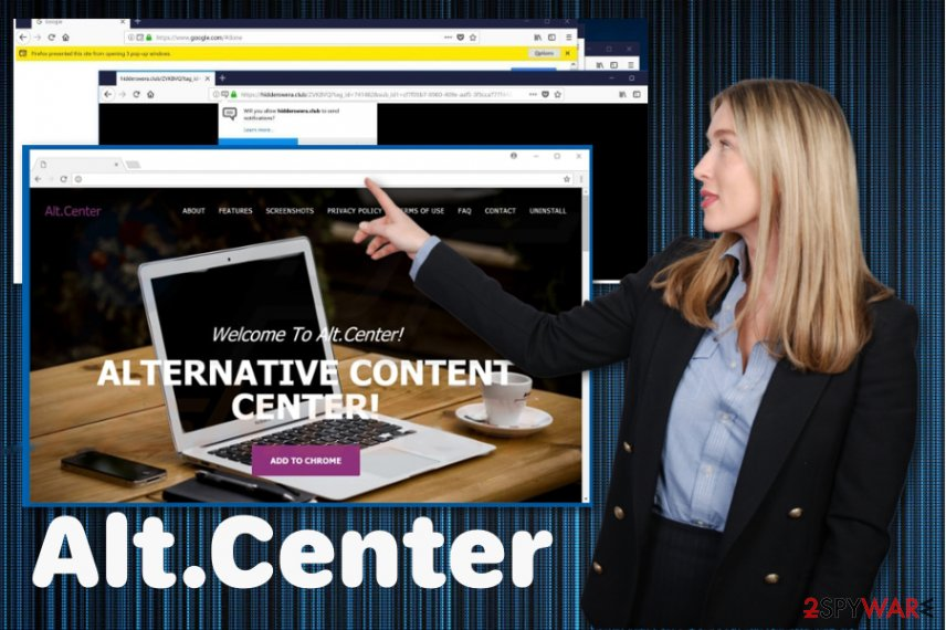Alt.Center ads