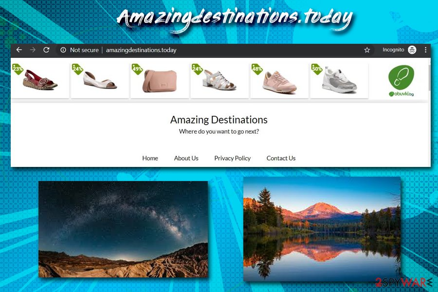Amazingdestinations.today virus