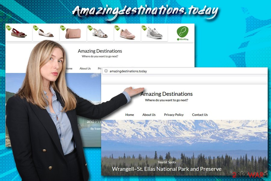 Amazingdestinations.today redirect