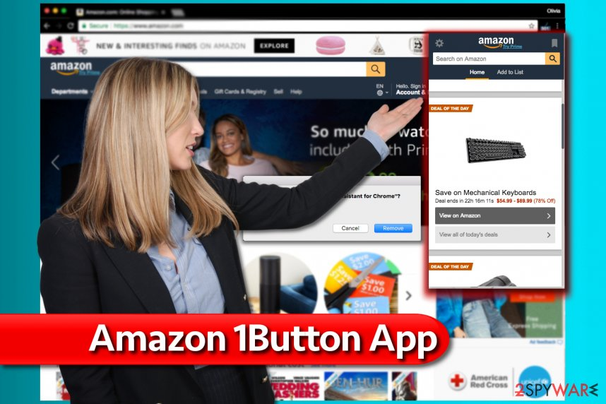 Amazon One Button App