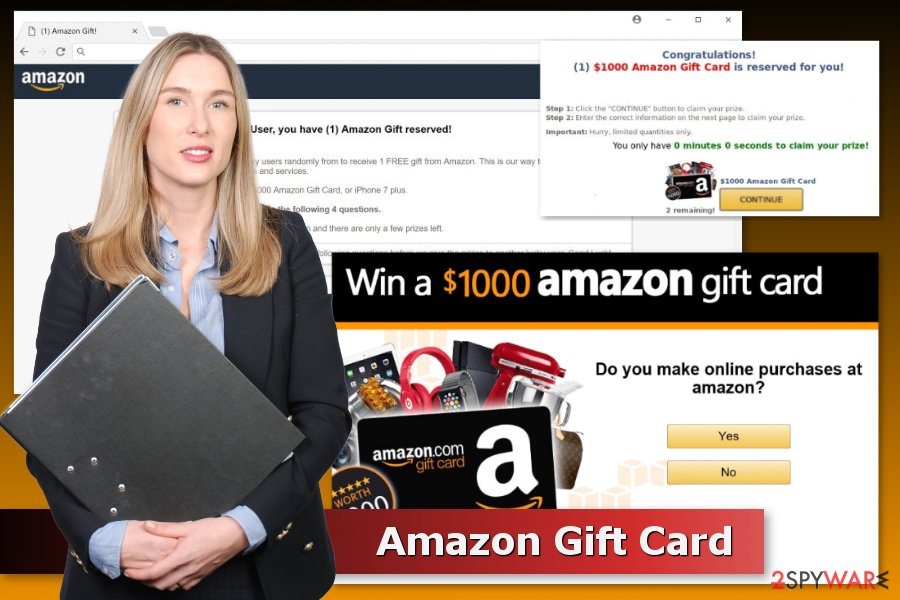 Examples of Amazon Gift Card scams