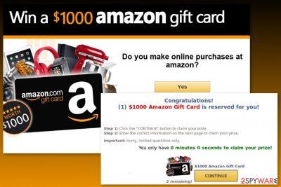 Image of Amazon Gift Card virus