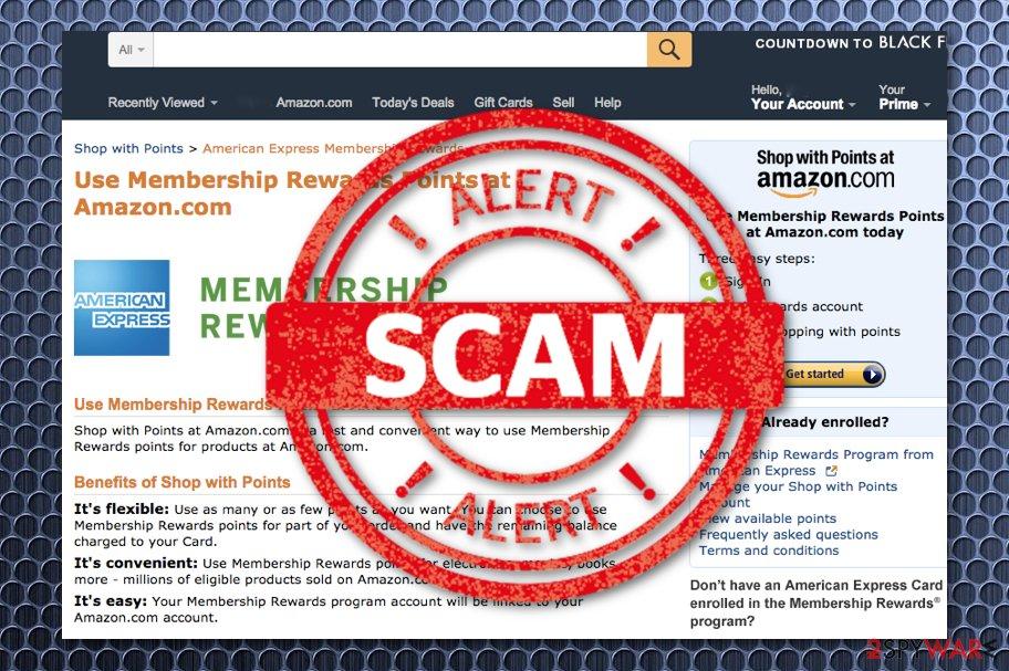 Amazon Membership Rewards scam