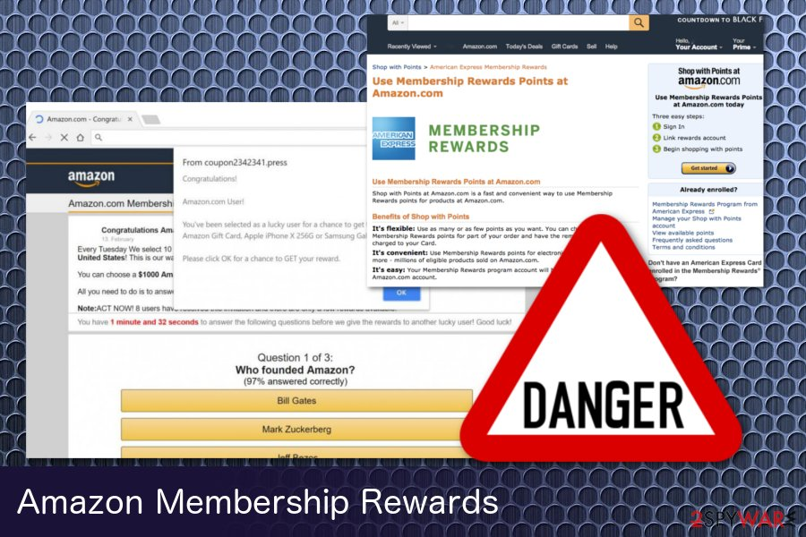 Amazon Membership Rewards hoax