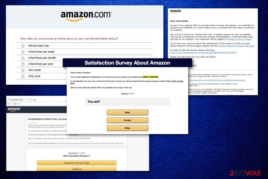 Amazon Shopper Satisfaction Survey virus