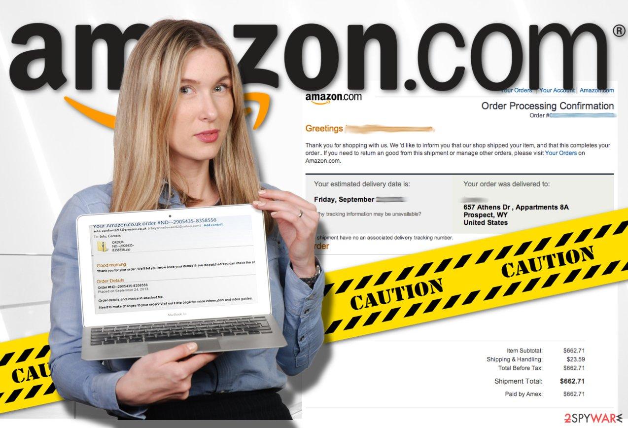 Amazon virus termination