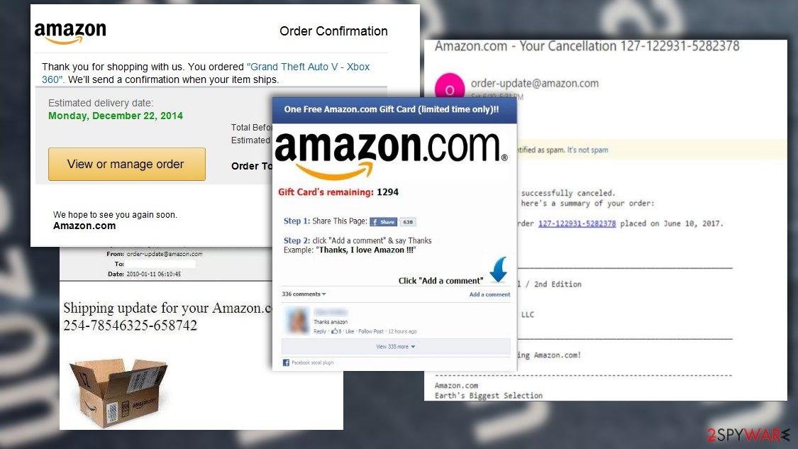 Amazon scams