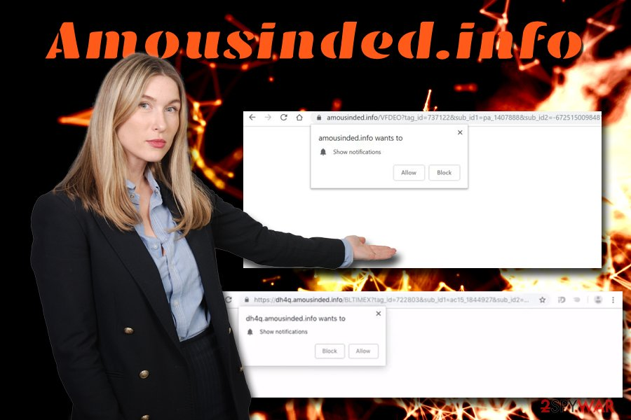 Amousinded.info adware