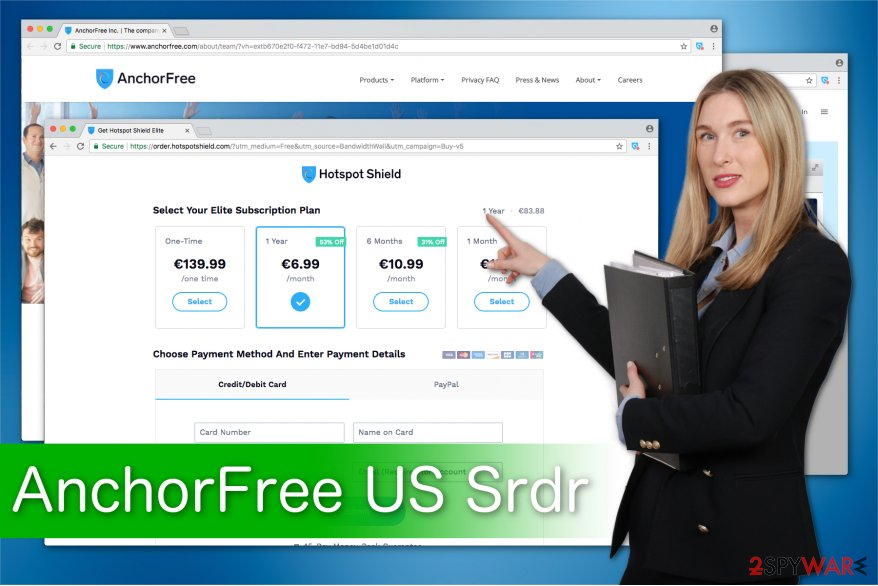 AnchorFree US Srdr message illustration